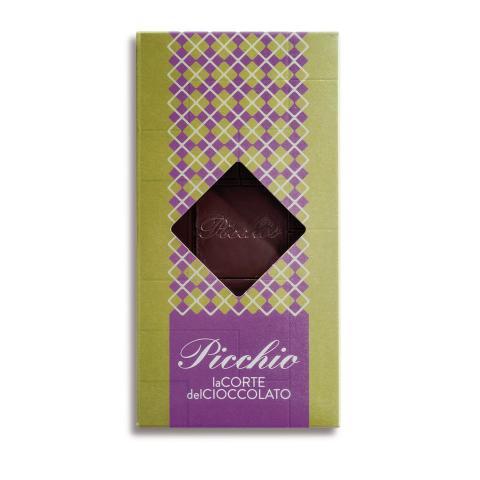 Tavoletta cioccolato fondente e pistacchi