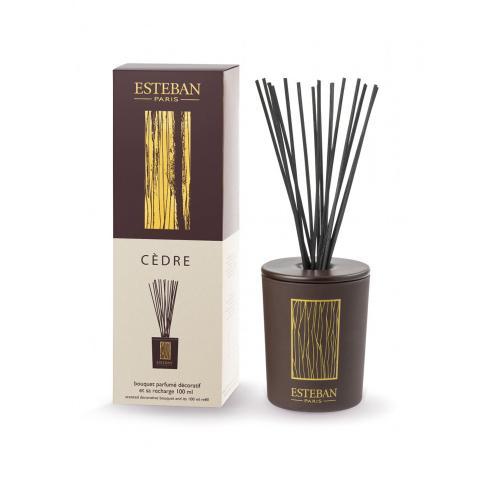 Cèdre - diffusore in ceramica profumo d'ambiente a bastoncini Esteban