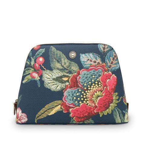 Beauty case blu fiori Pip Studio