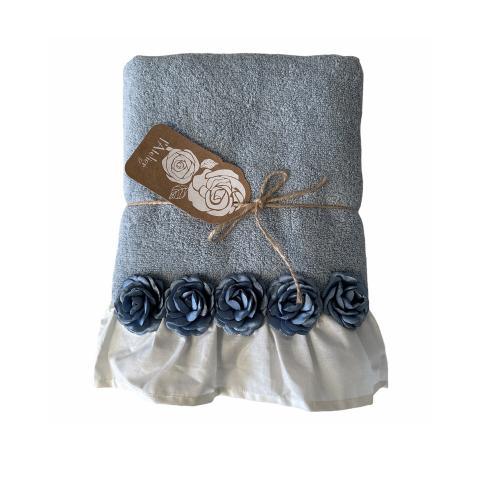 Asciugamano bagno CELESTE set 2 pezzi