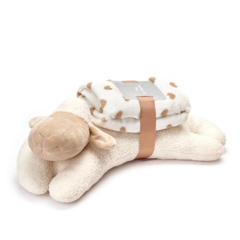 Cuscino Pecora con Plaid Baby