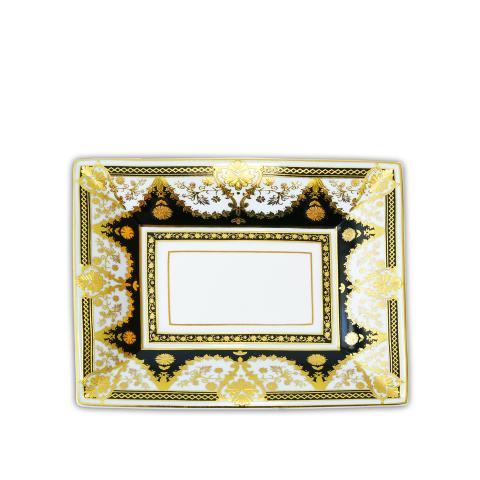 Svuotatasche rettangolare 20x16 cm Baci Milano Gala/Living nero