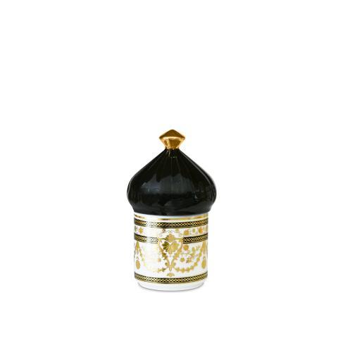 Porta oggetti mini Ø 7 cm H 13 cm Baci Milano nero