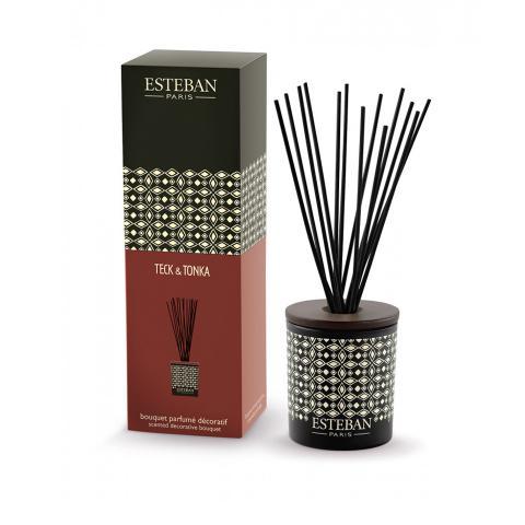 Teck e Tonka - diffusore in ceramica profumo d'ambiente a bastoncini Esteban